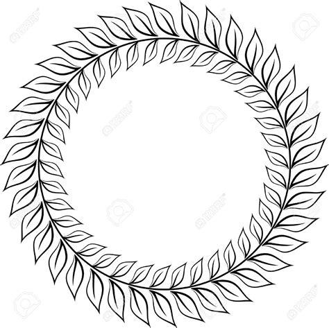 laurel wreath emblem clipart clipart collection