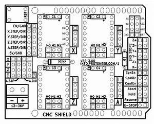 Cnc Arduino Shield  U2014 Art Of Robotic Special Effects