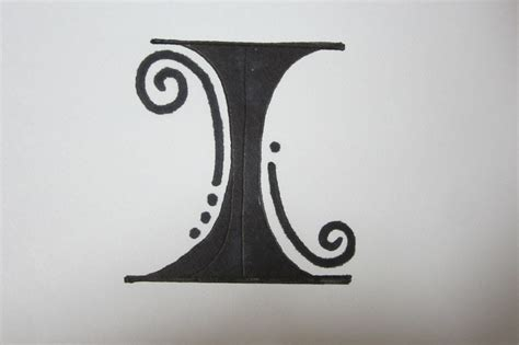 cool letter i fancy letters how to draw fancy letters the letter i