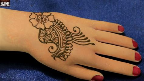 traditional easy arabian mehndi designs  beginners