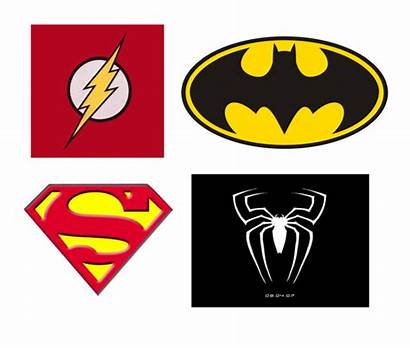 Superhero Logos Printable Template Super Templates Hero