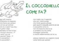 il coccodrillo come fa testo canzone il coccodrillo come fa