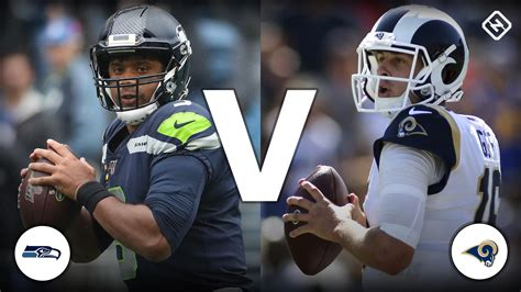 channel  rams  seahawks  today schedule time