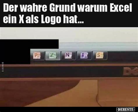 der wahre grund warum excel ein  als logo hat