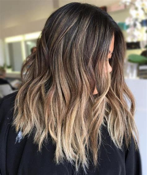 natural  brunette balayage styles