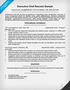 downloadable chef resume samples writing tips rc With executive chef resume template