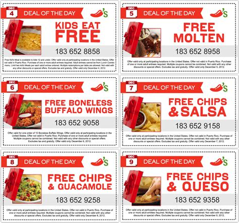 31753 Free Dessert Coupon Chilis by Chili S Coupons Coupon Codes