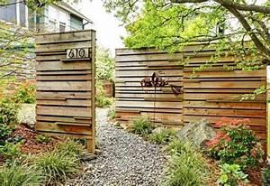 Cloturer Son Jardin Pas Cher : cl ture de jardin pas ch re originale et design ~ Melissatoandfro.com Idées de Décoration