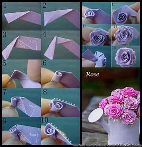 How Ot Make A Paper Rose