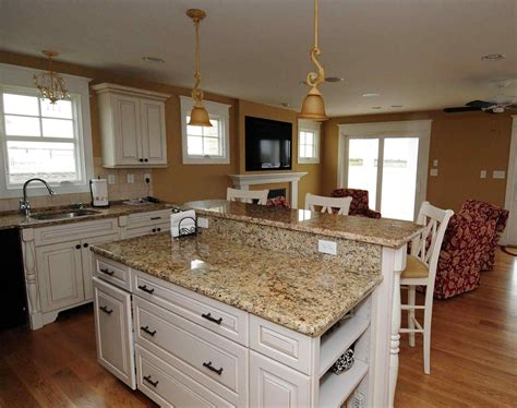 Off White Kitchen Cabinets With Granite Countertops