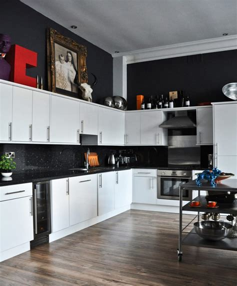 white and black kitchen ideas white and black kitchens captainwalt com