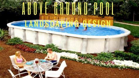 Ground Pool Landscape Design Ideas Youtube