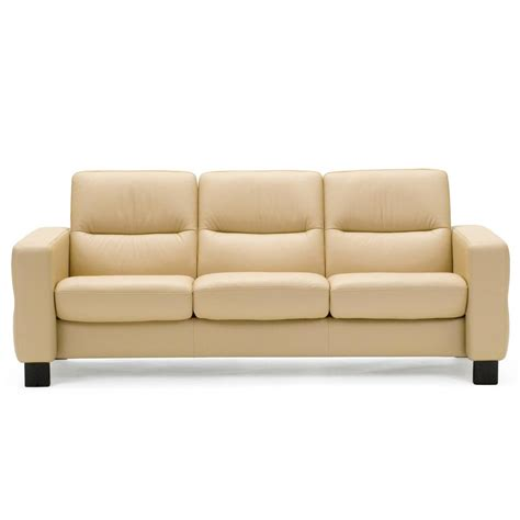 low back settee stressless wave low back sofa from 2 995 00 by stressless