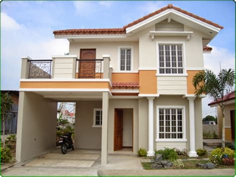 Minimalist House Design: Two Story Modern Small House Design
