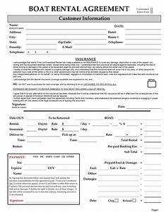 boat partnership agreement template - 6 free rental agreement templates excel pdf formats