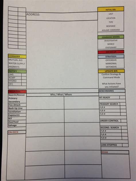 drill tactical worksheet  rung response training