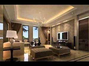 Ceiling ideas for living room design - YouTube