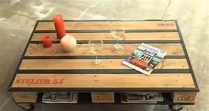 Table Basse Palettes : des meubles en palettes ~ Melissatoandfro.com Idées de Décoration
