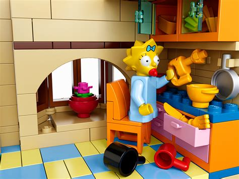 Simpsons Lego House Officially Revealed  The Toyark News