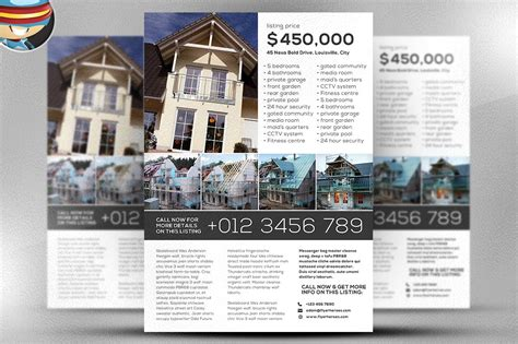 Permalink to Real Estate Flyer Templates For Free