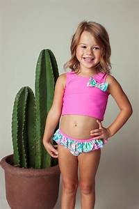 Floatimini Flamingo Scoop Back Tankini Toddler Little