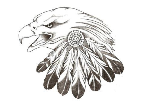 eagle sketches eagle feather tattoo leather patterns