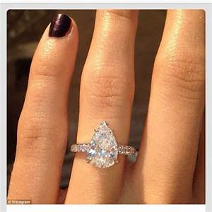 perfect teardrop engagement ring random issssh With tear drop wedding ring