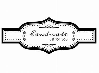 Tags Gift Printable Handmade Homemade Labels Tag
