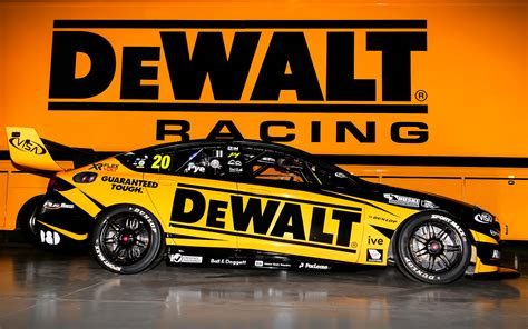 dewalt backing  pye  team  supercars