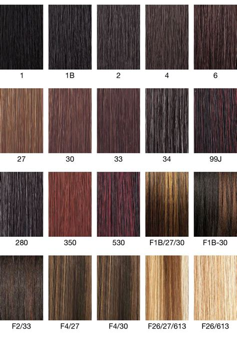 how to color weave color chart 1930s hair make up hair color