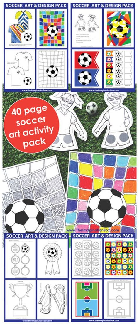 25 best ideas about soccer crafts on creative 634   5d1209216f559e00e61f51256df301d4