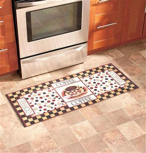 Decorative Cushioned Kitchen Floor Mats by 48 X20 Decorative Wine Coffee Laundry Cushioned Kitchen