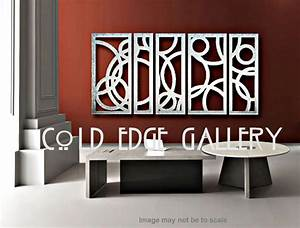 Extra large art metal wall decor by coldedgegallery