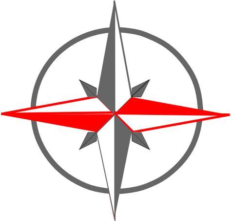 Compass Clip Gray Compass Clip At Clker Vector Clip