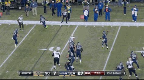 tip drill catch  derrick coleman  nfl touchdown