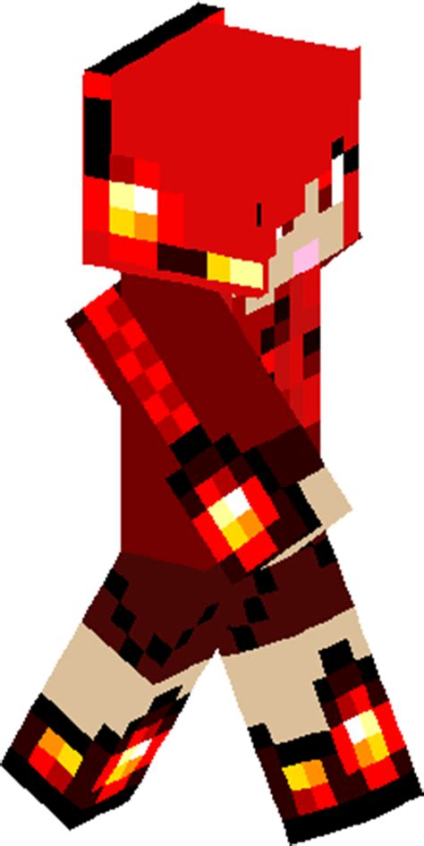 Redstone L Minecraft Skin by Fixed Redstone Skin Minecraft Skins