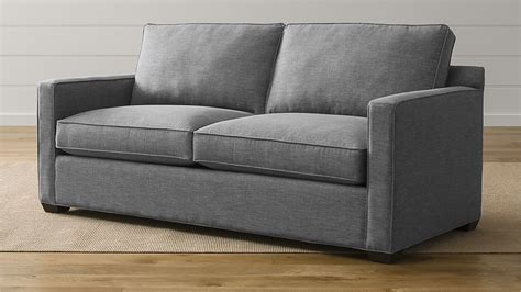versatile furniture for small spaces davis blend sofa crate and barrel