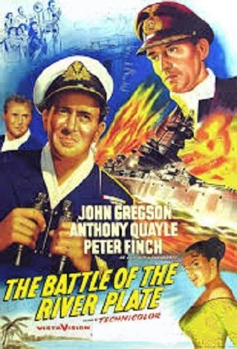 BATTLE OF THE RIVER PLATE (1956)   www.filmjems.co.uk