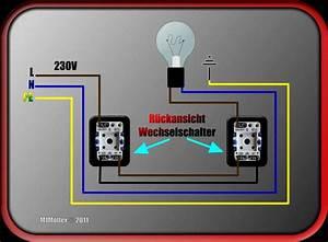 Lichtschalter Mit Licht : zwei lichtschalter eine stromquelle anschlie en bloghot ~ A.2002-acura-tl-radio.info Haus und Dekorationen
