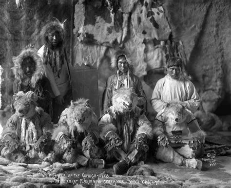 inuit wolf dance image     title group