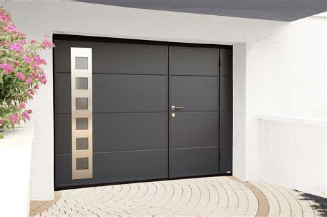 porte de garage avec portillon pose de porte de garage sur mesure motoris 233 e ou manuelle 224 lyon 69
