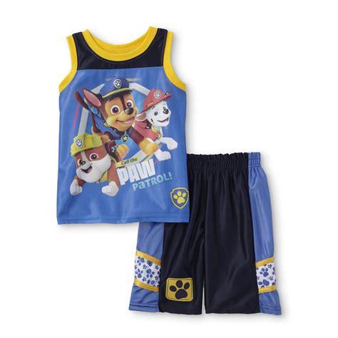 Nickelodeon PAW Patrol Toddler Boysu0026#39; Graphic T-Shirt u0026 Shorts