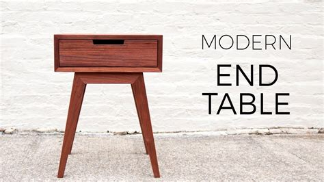 modern  table side table diy woodworking projects