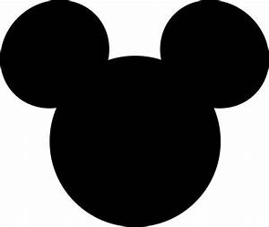 mickey mouse silhouette template pictures to pin on With mickey mouse silhouette template