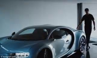 He has cr7 embroidered on the headrests of his. Cristiano Ronaldo test drives the new Bugatti Chiron ...