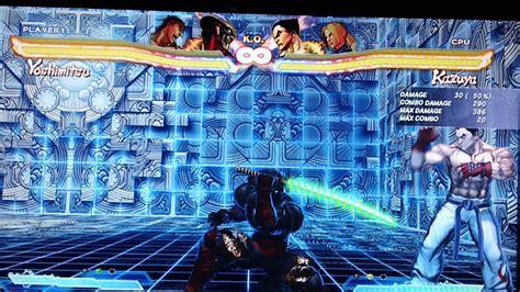 Street Fighter X Tekken Yoshimitsu Combossetupstips
