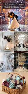 18 drop dead gorgeous winter wedding ideas for 2015 With wedding ideas for winter