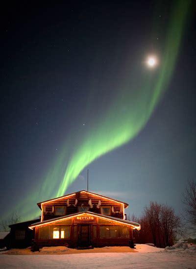 Bettles & Aurora Viewing Lodge Cabin Rentals   Arctic