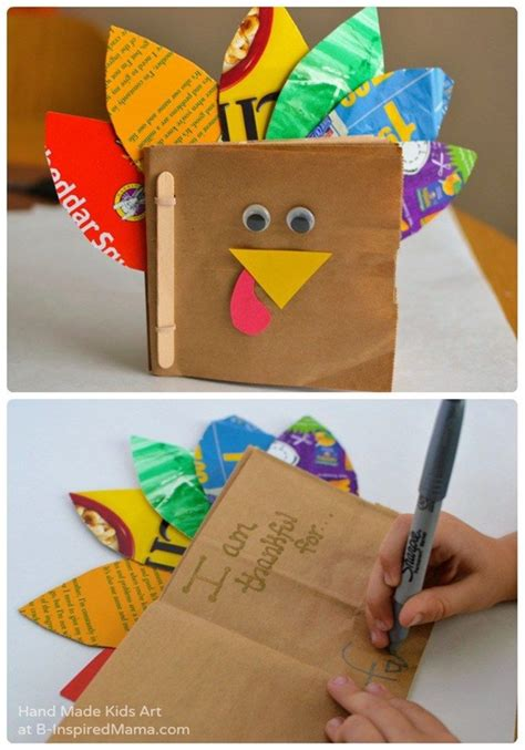 easy thanksgiving arts  crafts ideas  kids