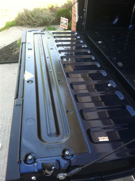 tailgate step handle aka stripper pole removed ford
